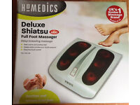 Deluxe Home Shiatsu Relaxing Foot Massager with Deep Kneading FM-TS9-GB