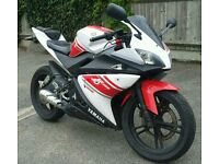 2008 YAMAHA YZF R125 with a Remus Exhaust Fitted - Learner Legal 125cc