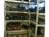 Wanted aircraft parts , instruments , automobila , vintage electronics.