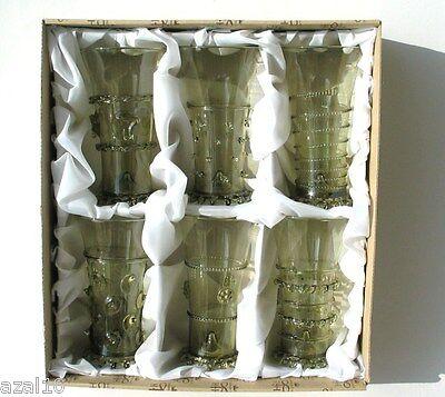 Waldglas Böhmen  Exklusive hochwertige Handarbeit Glas Replika neu Top Preis