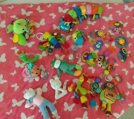 Happy Baby Toy Bundle inc Lamaze and ELC
