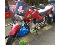 Yamaha YBR 125cc spares or repair