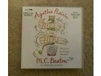 Agatha Raisin - Hiss and Hers - 6 CD Audio Book - New