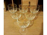 Box of 6 Wine glasses