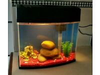 Small Fish tank Inc filter etc
