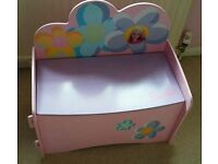 Toy storage - pink toy chest - colchester