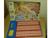 Vintage collectible guess who board game mb games
