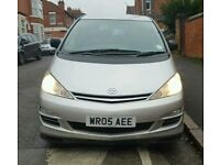 Toyota previa 2.0 d4d 7 seater similar size to sharan galaxy or mpv voyager
