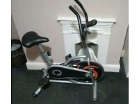 Crystaltec spin exercise bike