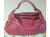 Leather Handbag Francesca Biasca