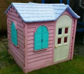 Little Tikes Pink Country Cottage kids playhouse