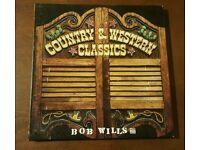 BOB WILLS CLASSICS VINYL RECORDS