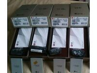 4x LG G3 empty boxes with accessories