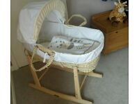 Kinder Valley Zoo Time Moses Basket & Stand