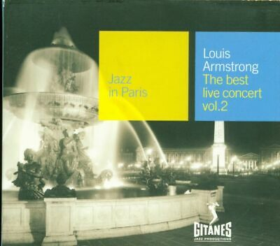 Louis Armstrong - Jazz In Paris The Best Live Concert Vol. 2 Digipack