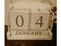 Tabletop Calendar, used for sale  County Down