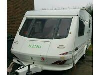 Elddis Hurricane GT 2 berth end bathroom plus extras