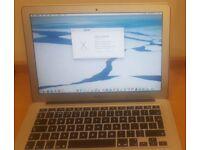 """MacBook Air 2014 i5 13"""" 4GB ram 120GB SSD"""