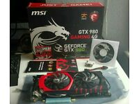 MSI NVIDIA GTX 980 4 GB PCI Express 256 Bit Gaming Graphics Card