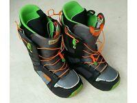 Burton Moto Size 9 Snowboard Boots