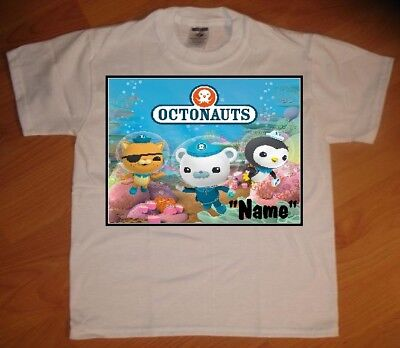 Octonauts Banner Personalized Birthday Party Favor Gift T-Shirt - NEW](Octonauts Birthday Party)
