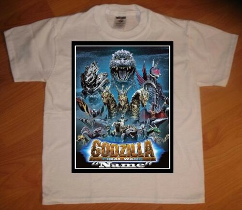 Godzilla Final Wars Personalized Birthday Party Favor Gift T-Shirt - NEW
