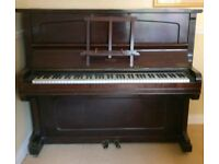 Piano free but must collect