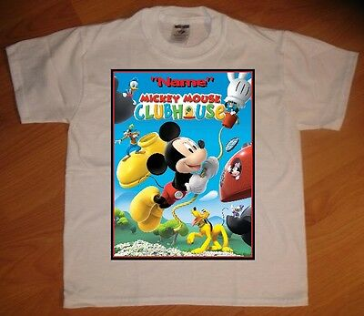 Mickey Mouse Clubhouse Custom Personalize Birthday Party Favor Gift T-Shirt