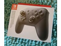 Nintendo Switch Pro controller (new)