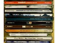 28 various rock cds - £15
