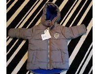 Boys winter coat 12 -18 months