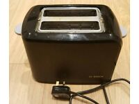 BOSCH toaster with bun heating rack