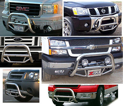 Super Bull Bar Toyota Tacoma 2005-up Chrome Bumper Push Grill Stainless Steel
