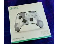 Xbox One Controller - Winter Special Forces Design