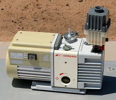 Edwards Rv5 Two Stage Rotary Vane Vacuum Pump A653-01-906