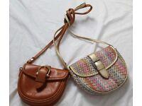 2 small girls handbags