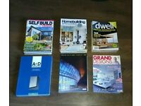 Architecture and homebuilding magazines