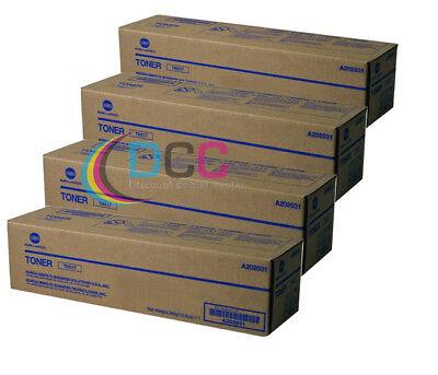 Oem Konica Minolta Lot Of 4 Tn217 Toner Cartridges For Bizhub 223 Bizhub 283