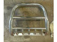 """Nissan navara """"A"""" bar bull bars"""