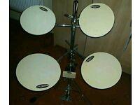 Dw practice drum pads