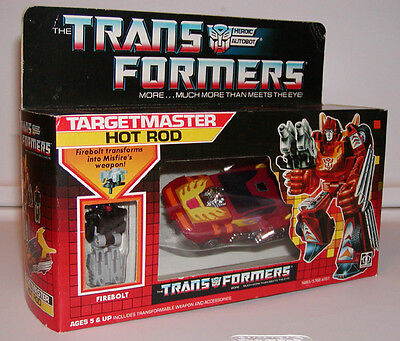 Hot Rod (Rodimus Prime) with Targetmaster