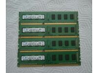 8GB DDR3 1333MHz Samsung RAM