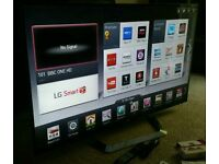 """LG 55"""" LED CINEMA 3D Smart TV. Freeview HD Wi-Fi & MCI 800 Magic Remote 3D Glasses NEW CONDITION"""