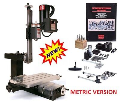 Sherline 5810a Metric Nexgen Vertical Mill Package A New Inch Sherline 5800a
