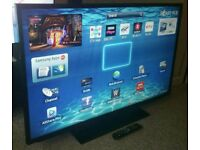 "SAMSUNG 32"" LED FULL HD SMART TV WITH BUILT IN WiFi FREEVIEW HD, HDMI NEW CONDITION FULLY WORKING"