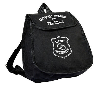ring bearer backpack ringbearer gifts Wedding Party RIng Securiity  - Ring Bearer Backpack