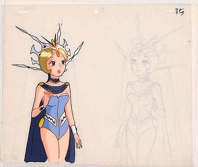 Astroboy Anime Cel Atom Animation Art Princess Livian Robot Tezuka 1980s