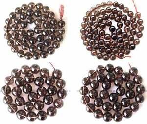 2-4-6-8-10-12-14-16mm-Smoky-Quartz-Round-gemstone-Beads-15