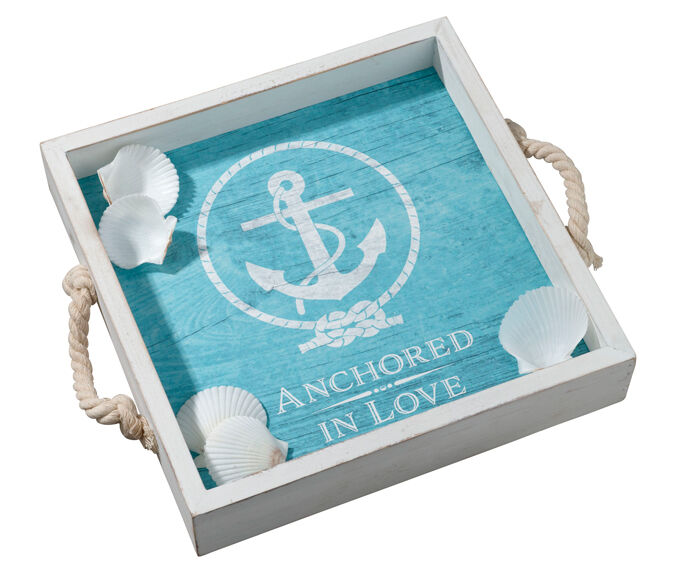 Lillian Rose Anchored In Love Wedding Tray Plus Signing S...