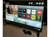 """LG 55"""" Slim LED FULL HD SMART TV WITH BUILT IN WiFi FREEVIEW HD, 4X HDMI NEW CONDITION FULLY WORKING"""